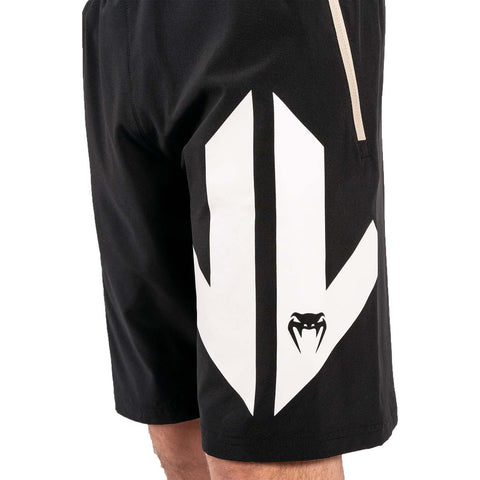 Image of Venum Arrow Loma Signature Collection Training Shorts /White | MMA Shorts | Fight Co