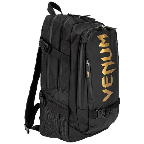 Venum Challenger Pro Evo Back Pack  Black/Gold | Gym Bags | Fight Co