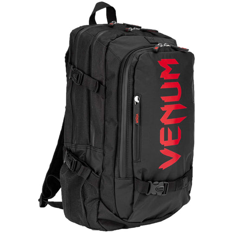Venum Challenger Pro Evo Back Pack  Black/Red | Gym Bags | Fight Co