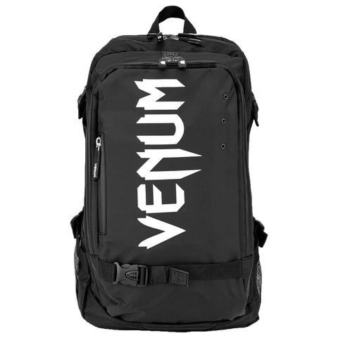 Venum Challenger Pro Evo Back Pack  Black/White | Gym Bags | Fight Co