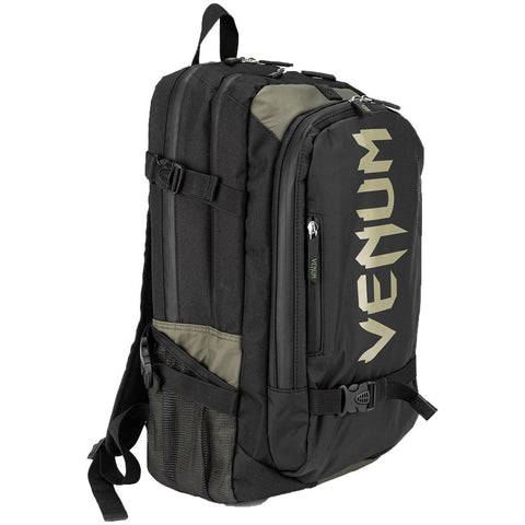 Venum Challenger Pro Evo Back Pack Black/Khaki | Gym Bags | Fight Co