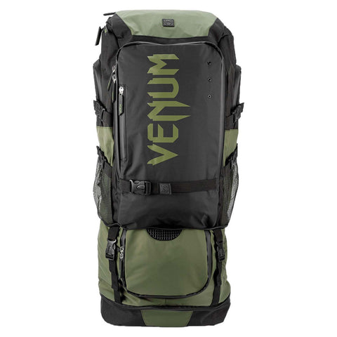 Image of Venum Challenger Xtreme Evo Back Pack  Black/Khaki | Gym Bags | Fight Co