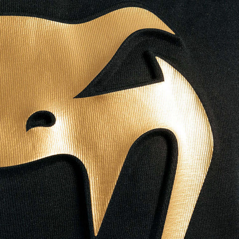 Venum Classic Crewneck Black/Gold | Hoodie | Fight Co