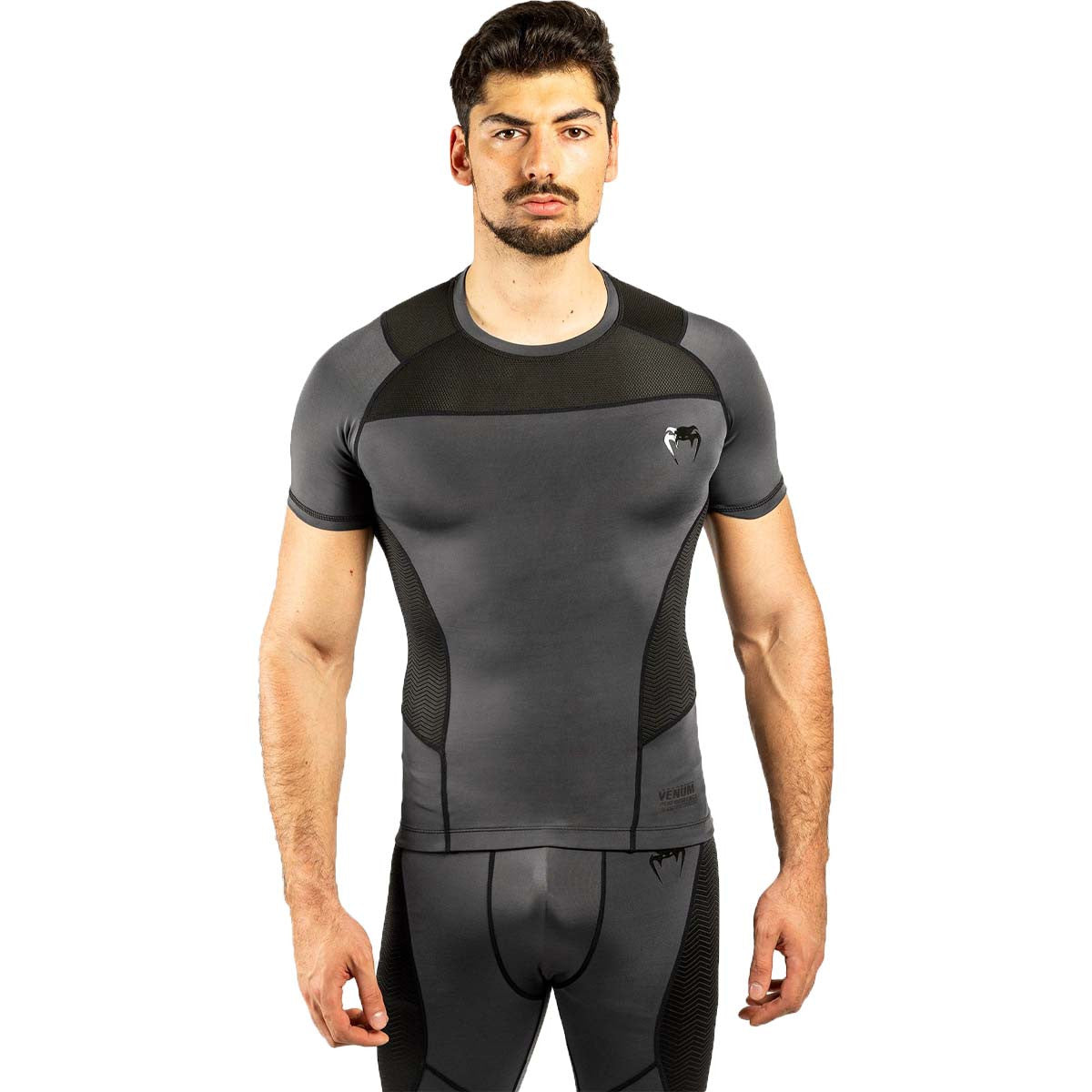 Venum G-Fit Short Sleeve Rash Guard /Black |  | Fight Co