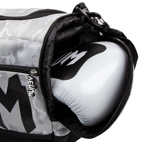 Image of Venum Sparring Sports Bag White/Camo | Gym Bags | Fight Co
