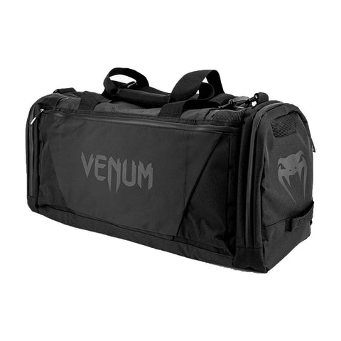 Image of Venum Trainer Lite Evo Sports Bag Black/Black | Gym Bags | Fight Co