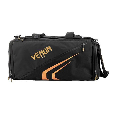 Venum Trainer Lite Evo Sports Bag Black/Gold | Gym Bags | Fight Co