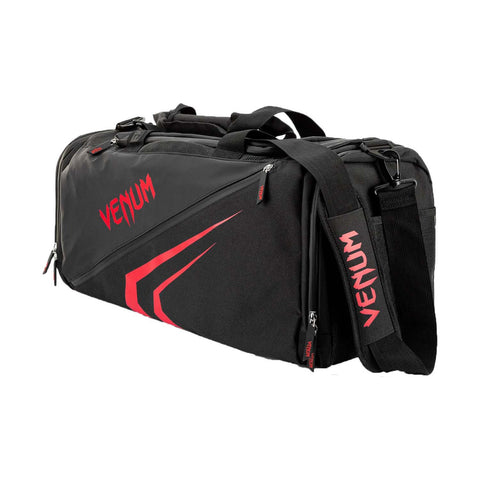 Venum Trainer Lite Evo Sports Bag Black/Red | Gym Bags | Fight Co
