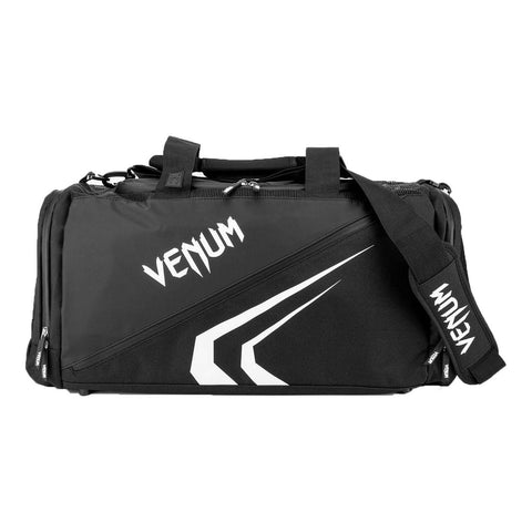 Image of Venum Trainer Lite Evo Sports Bag Black/White | Gym Bags | Fight Co