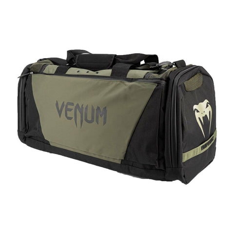 Image of Venum Trainer Lite Evo Sports Bag Black/Khaki | Gym Bags | Fight Co