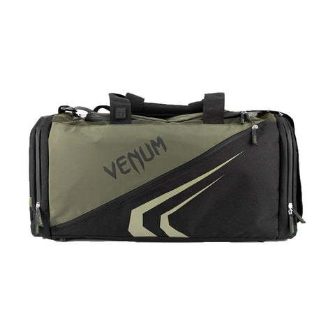 Venum Trainer Lite Evo Sports Bag Black/Khaki | Gym Bags | Fight Co
