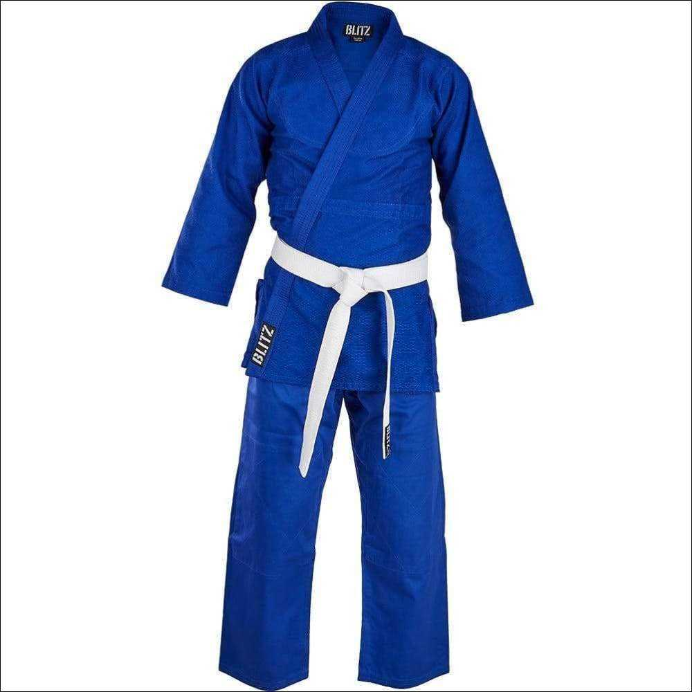 Blitz Sports Cotton Student Judo Suit - Blue, Clothing & Accessories by Fight Co