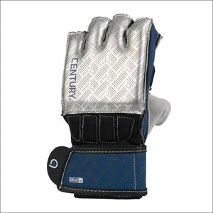 Century Brave Grip Bar Gloves Silver/Navy - Bag Gloves
