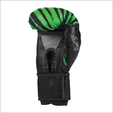 Century Brave Youth Boxing Gloves Black/Green | Kids Boxing Gloves | Fight Co