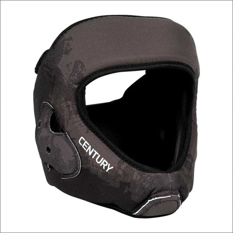 Century C-Gear Washable Sparring Head Guard Black/Grey | Head Guards | Fight Co