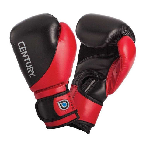 Century Drive 8oz Youth Boxing Gloves Black/Red 8oz | Boxing Gloves | Fight Co