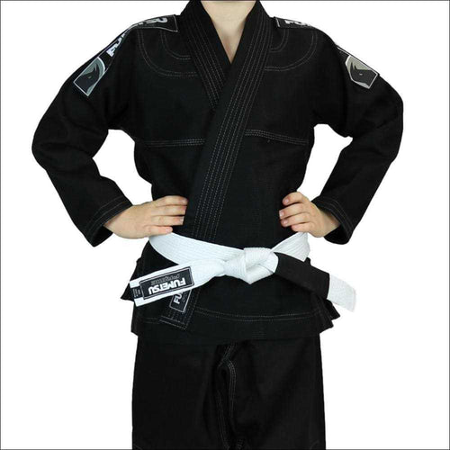 Fumetsu Kids Prime BJJ Gi Black - Kids BJJ Suit