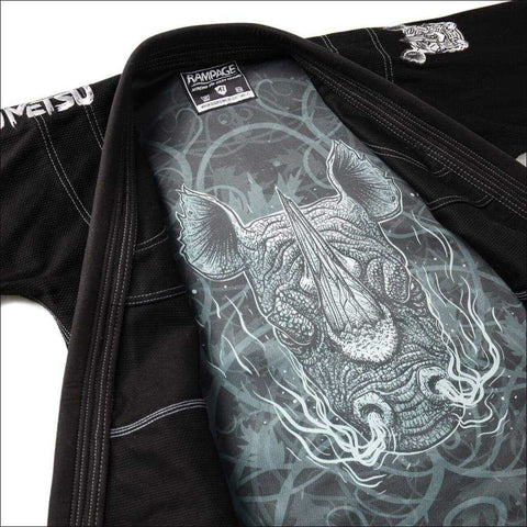 Image of Fumetsu Rampage BJJ Gi Black | Adult BJJ Suit | Fight Co