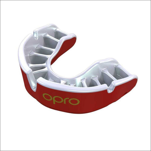Opro Junior Gold Gen 4 Mouth Guard Red/Pearl - Red - Gum Shields