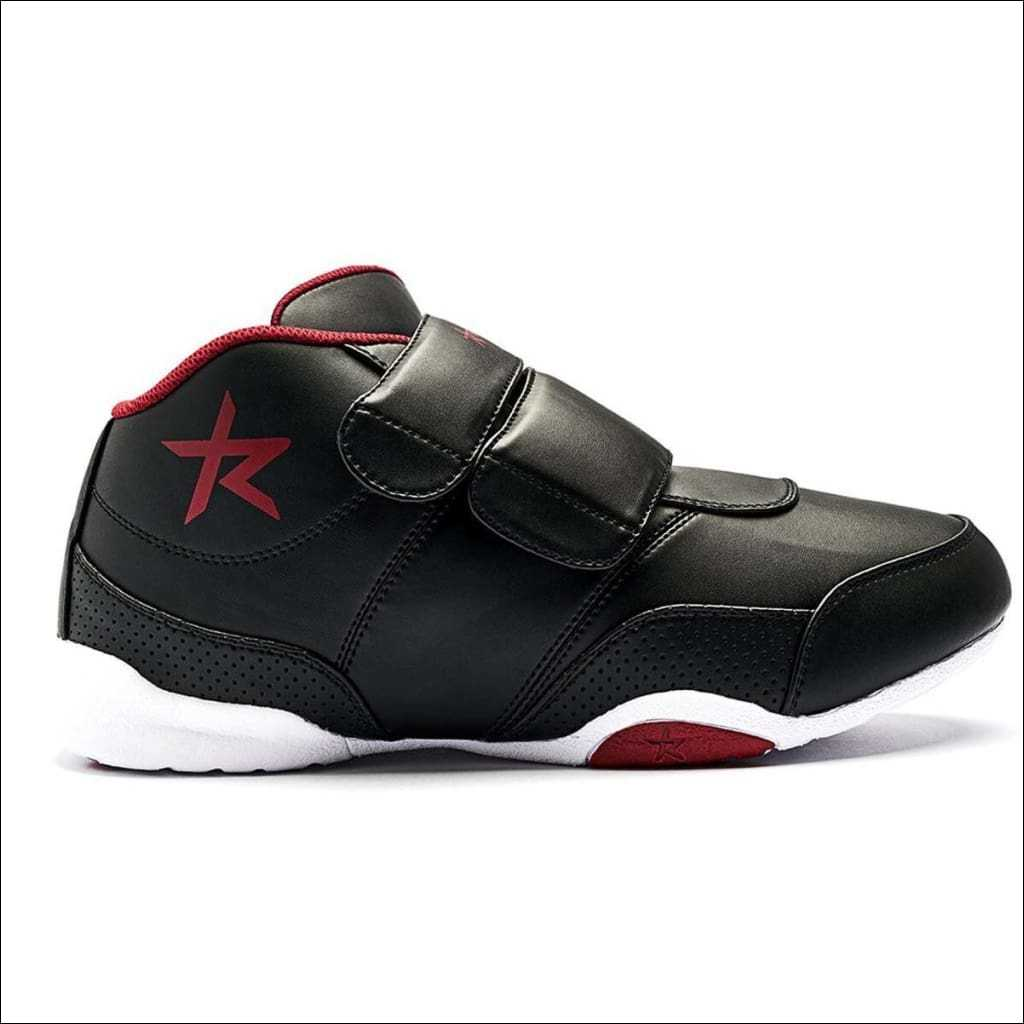 Ringstar Fight Pro V2 Sparring Shoe Black/Red | Martial Arts Shoes | Fight Co