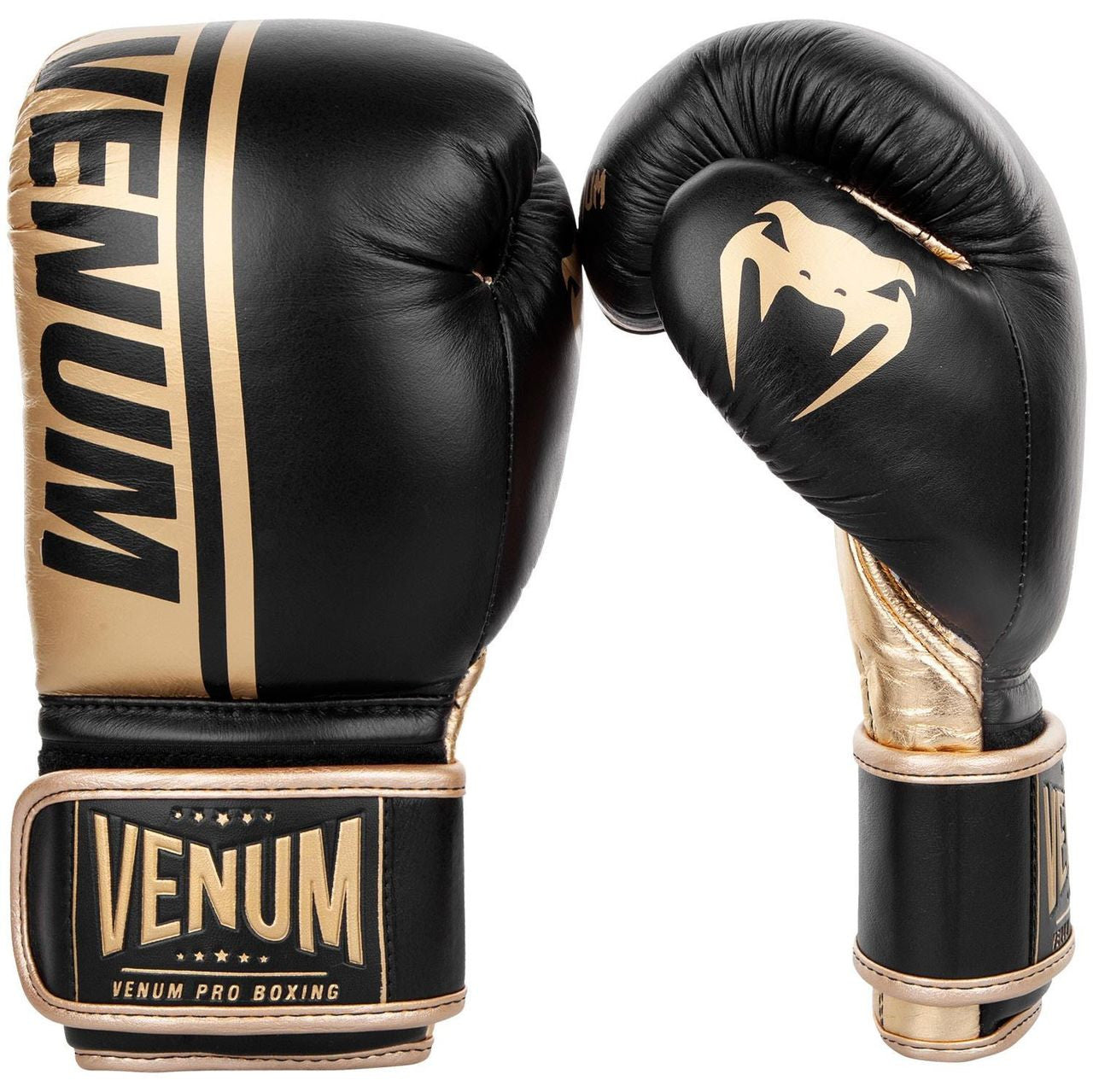 Venum Shield Pro Boxing Gloves /Gold