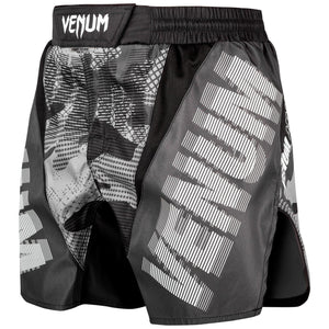 Venum Tactical Fight Shorts Black/White | Muay Thai Shorts | Fight Co