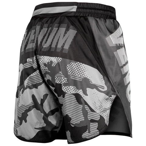 Image of Venum Tactical Fight Shorts Black/White | Muay Thai Shorts | Fight Co