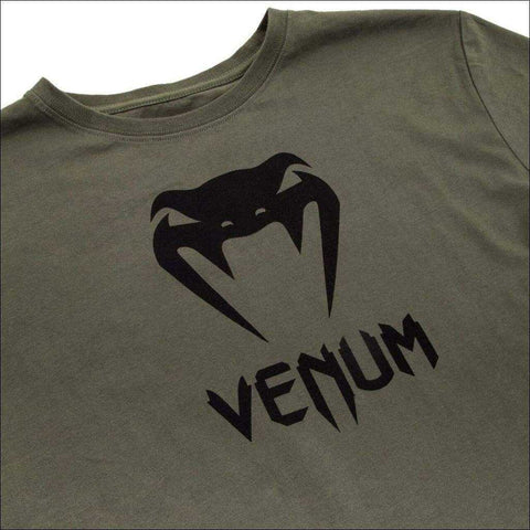 Venum Classic T-Shirt Khaki | T-Shirts | Fight Co
