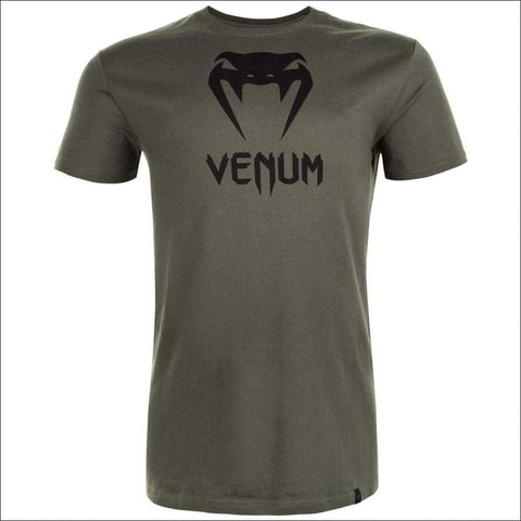 Image of Venum Classic T-Shirt Khaki | T-Shirts | Fight Co