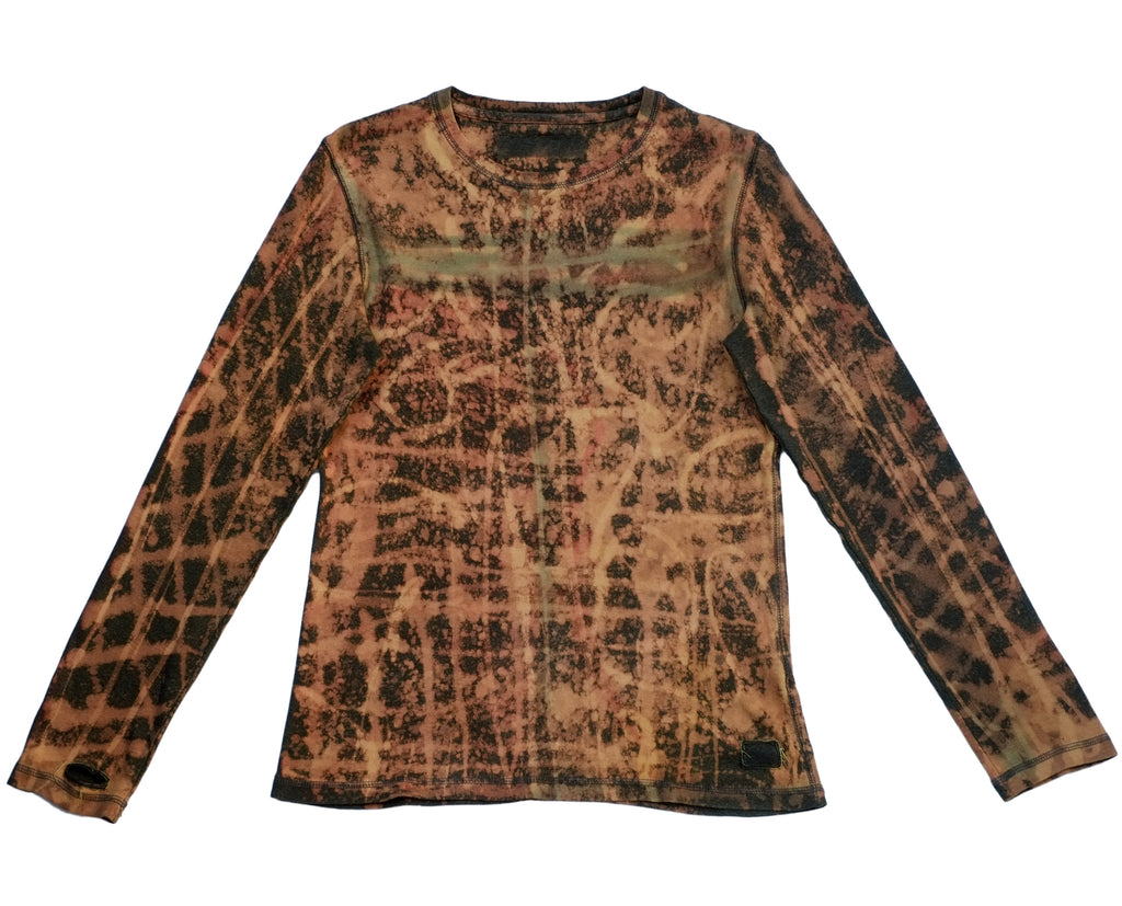 Rusted Lattice Long Sleeve