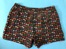Load image into Gallery viewer, men's retro bow tie print swim shorts