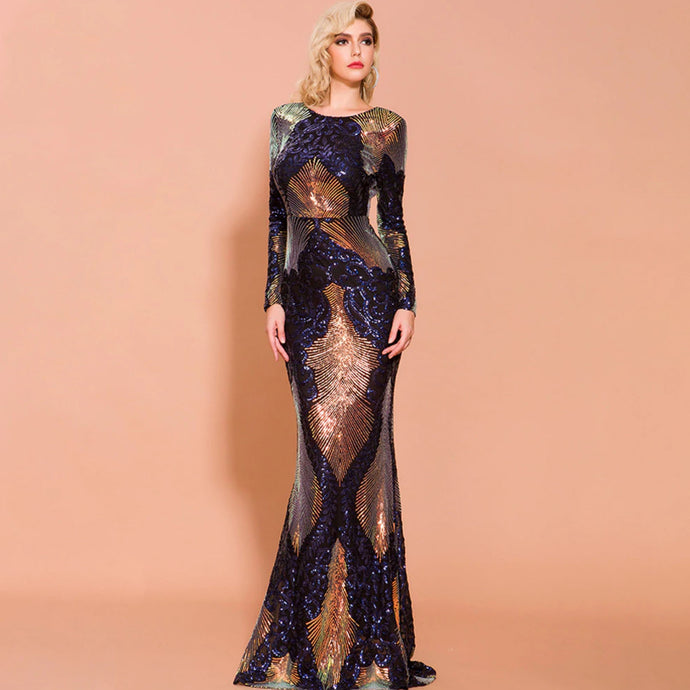 divine elegance evening dress