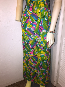 vintage 1960s LYSERGIC BLISS mod dress