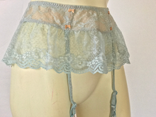 Load image into Gallery viewer, vintage VICTORIA'S SECRET lace garter skirt