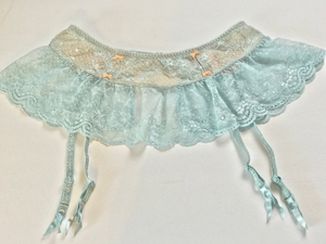 vintage VICTORIA'S SECRET lace garter skirt