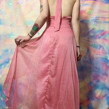 Load image into Gallery viewer, 1990s KIKI USA hot pink prom dress