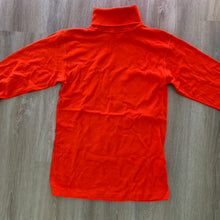 Load image into Gallery viewer, vtg fiery orange turtleneck sweater (unisex)