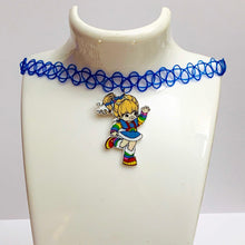 Load image into Gallery viewer, RAINBOW BRITE tattoo choker