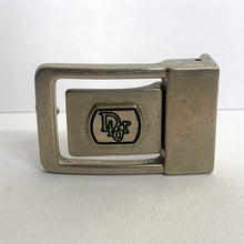 Load image into Gallery viewer, vintage DIOR silver tone belt buckle