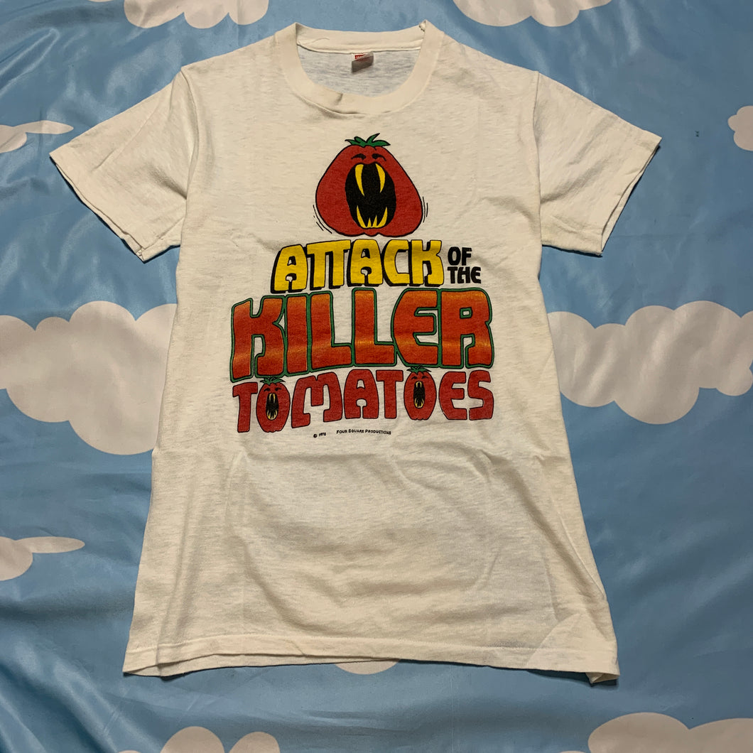 1978 authentic ATTACK OF THE KILLER TOMATOES t shirt