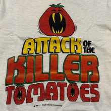 Load image into Gallery viewer, 1978 authentic ATTACK OF THE KILLER TOMATOES t shirt