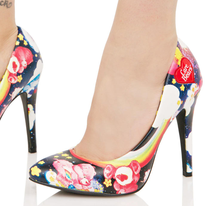 IRON FIST care bear stare point heels