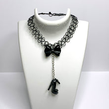Load image into Gallery viewer, BLACK STILETTO tattoo choker