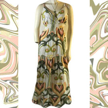 Load image into Gallery viewer, Vintage SPEED CONTROL New York Floral Maxi Dress