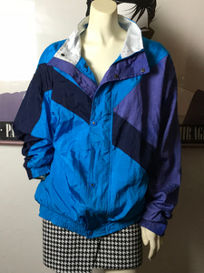 vintage CHRISTIAN DIOR nylon windbreaker jacket