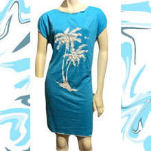 Load image into Gallery viewer, Vtg 1970s HAWAIIAN FLAVOR Casual Beach Dress