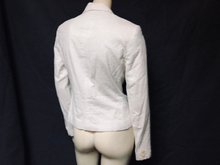 Load image into Gallery viewer, ladies CALVIN KLEIN white slim fit blazer jacket