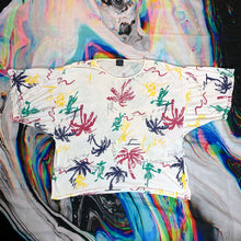 Load image into Gallery viewer, 80s GENERRA rainbow hawaiian print oversize t shirt