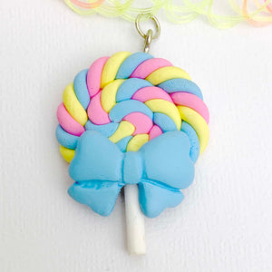 pastel LOLLIPOP GUILD swirled candy choker