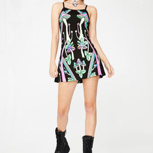 Load image into Gallery viewer, strange magic uv party mini dress